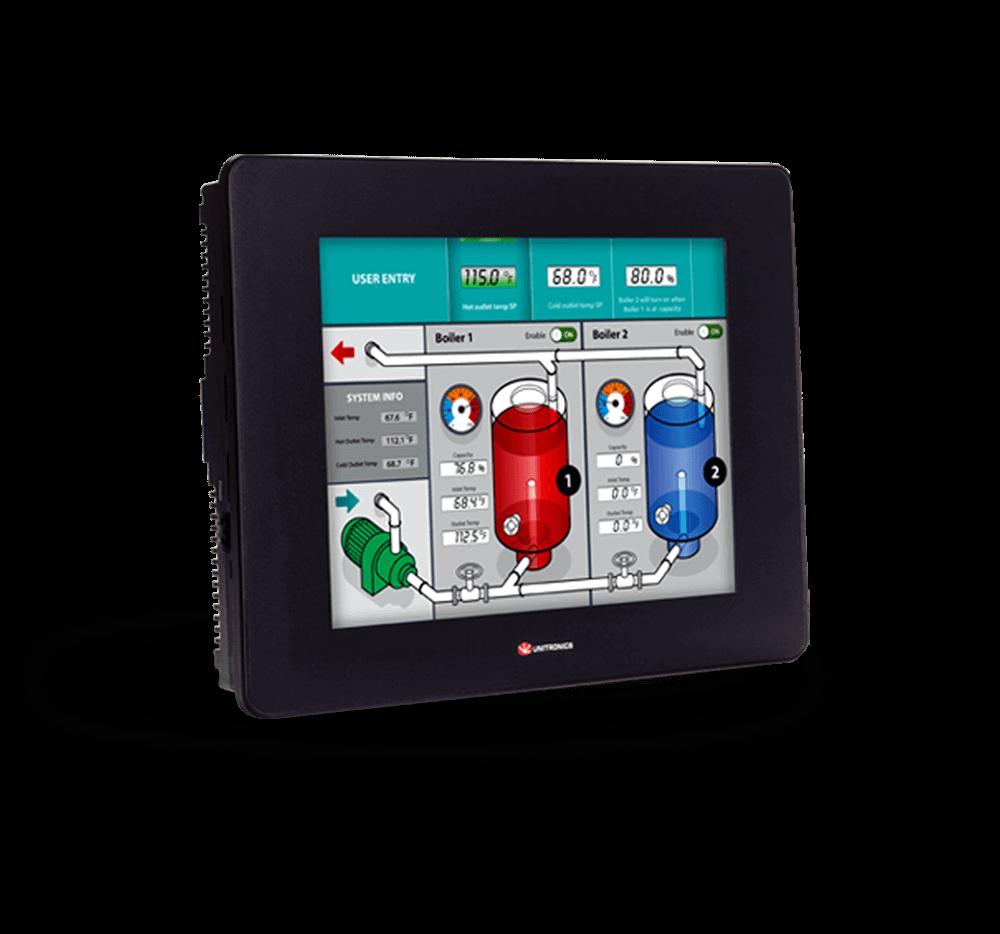 Unistream series- programmable logic controller (PLC+HMI)