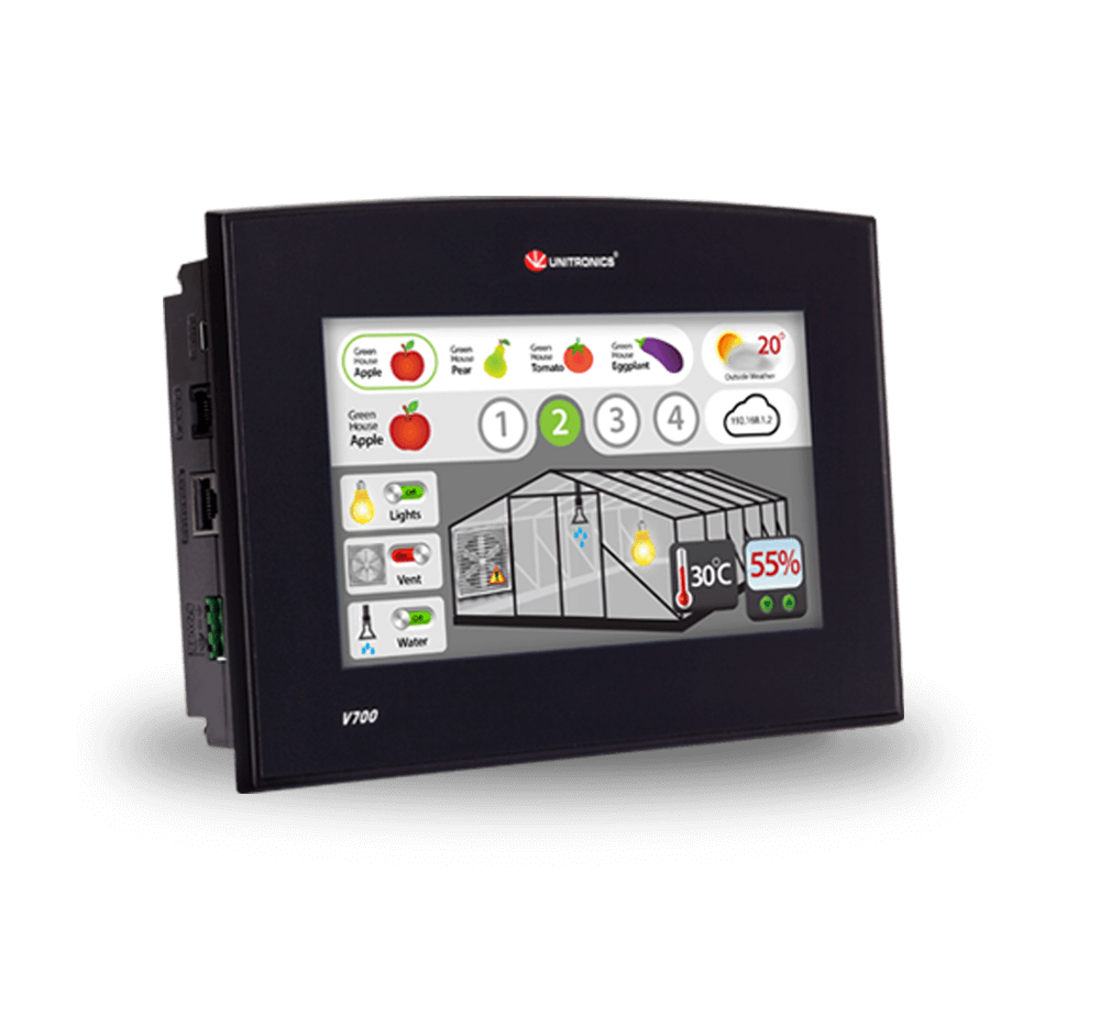 vision series- programmable logic controller (PLC+HMI)