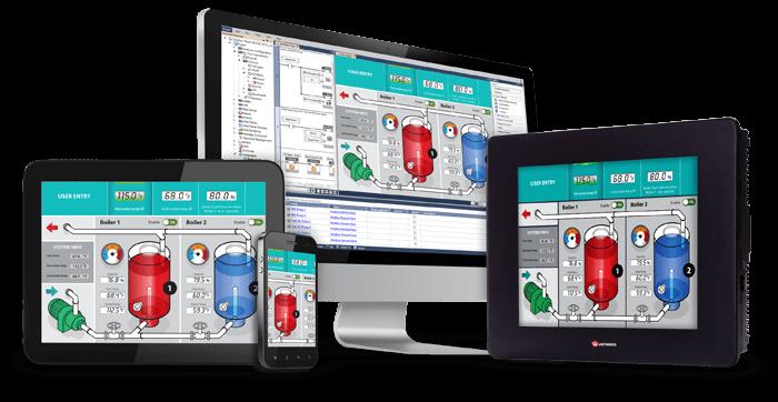 Unistream series- programmable controllers (PLC HMI)